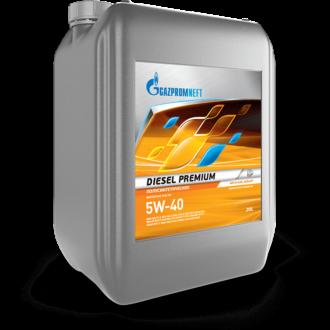 Масло моторное Gazpromneft Diesel Premium 5W-40