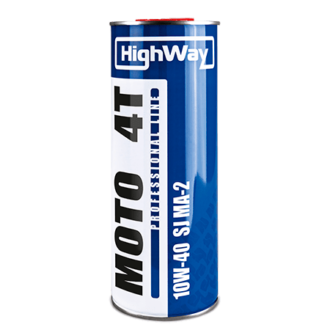 Мото масло HighWay4T 10W-40 SJ JASO MA-2