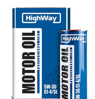 Дизельное моторное масло HighWay 5W-30 CI-4/SL